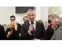 Municipales : Bruno Le Maire à Bron pour soutenir le candidat UMP
