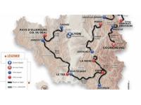 Critérium du Dauphiné : coup d'envoi de la seconde étape à Tarare ce lundi