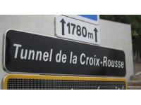 Le Tunnel de la Croix-Rousse à nouveau fermé de nuit cette semaine