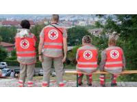 Une grande dictée pour lutter contre l'illettrisme organisée par la Croix-Rouge de Lyon