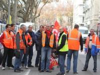 Les grévistes occupent la clinique protestante de Lyon