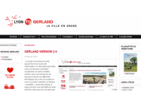 Le quartier de Gerland a désormais son site internet