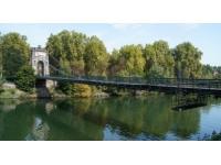 Le Pont de l'Ile Barbe rouvrira à la mi-avril