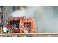 Incendie mystérieux sur le cours Albert Thomas