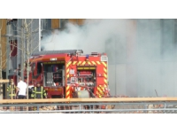 La Tour de Salvagny : incendie dans la centrale électrique