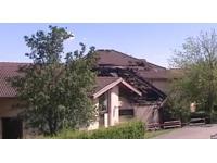 Une médiathèque prend feu à Grézieu-la-Varenne