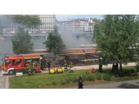 Le River Boat victime d'un incendie