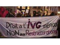 Réorganisation de l'IVG : 70 personnes ont manifesté à Lyon