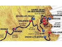 Tour de France 2015 : le peloton attendu à Valence et à l'Alpe d'Huez