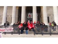 Blocage de trains à Chambéry : les manifestants jugés en appel à Lyon