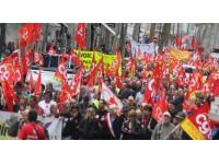 Les salariés de Colas Rhône-Alpes Auvergne ont manifesté mardi