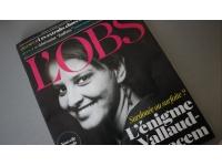 Najat Vallaud-Belkacem en Une de l'Obs cette semaine