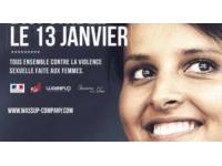 Najat Vallaud-Belkacem dans un clip pour lutter contre la violence faite aux femmes