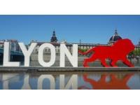 La sculpture OnlyLyon s'installe sur les Berges du Rhône à partir de vendredi