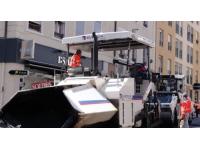 Grand rue d'Oullins : les travaux se terminent en début de semaine