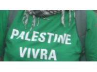 Un rassemblement à Lyon contre les raids israéliens à Gaza