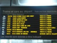 Week-end également chargé dans les gares de la région
