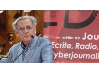 Bernard Pivot retrace sa carrière à Irigny
