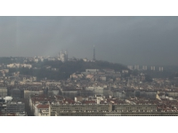 Pollution : le niveau d'information encore maintenu à Lyon
