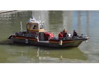Lyon : un accident de bateau sur le Rhône simulé la semaine prochaine