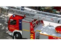 Une ferme a pris feu mercredi à Saint-Martin-en-Haut