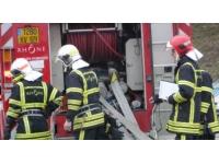 L'important incendie est maitrisé à Dardilly