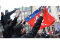 Identitaires : une manifestation pour la fermeture de la Traboule
