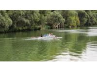 Rhône : simulation de deux accidents de bateaux d'aviron sur la Saône le 11 juin
