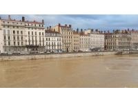 Lyon : la Saône de nouveau en vigilance jaune