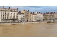 Lyon : la Saône repasse en vigilance jaune