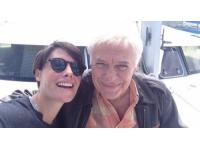 Alessandra Sublet va se faire une place en Corse auprès de Guy Bedos