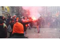 Les Lyonnais sont sortis dans la rue mardi pour fêter la victoire de l'équipe de France
