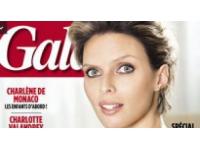 La lyonnaise Sylvie Tellier présente sa petite Margaux
