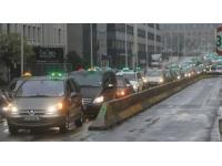 Grève des taxis à Lyon : les chauffeurs restent prudents