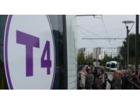 Ligne T4 : le nouveau tramway mis en service en septembre 2013