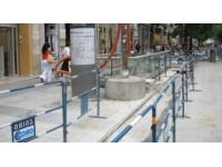 7e arrondissement : la rue Marc Bloch s'est affaissée