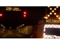 La circulation de nouveau possible sous le tunnel de Fourvière