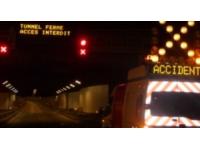 Accident de poids lourd :  le tunnel de Fourvière n'a pas besoin de travaux