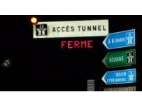 Fermeture nocturne du tunnel de Fourvière cette semaine