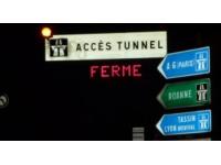 Des travaux nocturnes cette semaine sous le tunnel de Fourvière