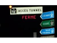 Circulation interdite sous le tunnel de Fourvière les nuits de cette semaine