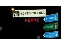 Un jeune homme grièvement blessé dans un accident de scooter à la sortie du tunnel de Fourvière