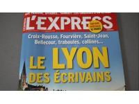 L'Express s'intéresse cette semaine au Lyon des écrivains