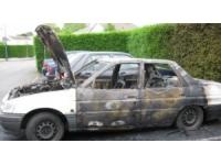 Six voitures partent en fumée sur un parking à Grigny