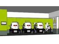 Une station de voiture électrique en libre-service ouvre à la Gare Part-Dieu