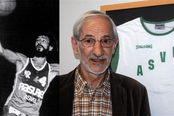 Décès d'Alain Gilles, la légende de l'ASVEL