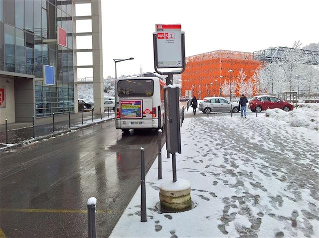 Neige à Lyon : retour à la normale mardi sur le réseau de bus TCL