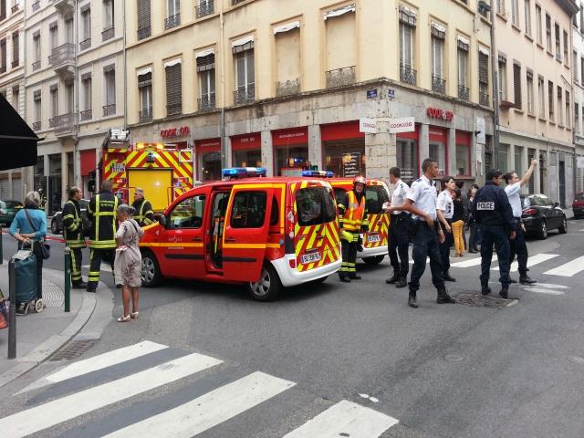 Une fuite de gaz rue de Sèze mardi matin