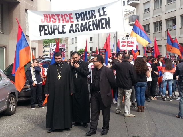 Journée de commémoration du Génocide arménien : 500 personnes rassemblées à Lyon