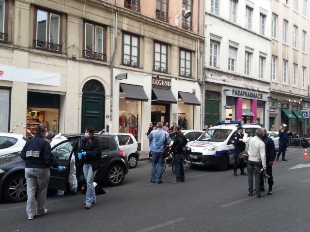 Lyon : des coups de feu tirés lors d'un braquage sur le cours Vitton, deux hommes interpellés (Màj)